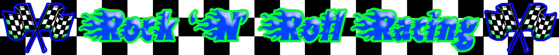 Custom Rock N Roll Racing logo
